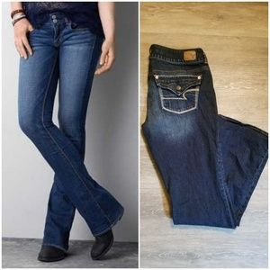 AEO artist flare jeans sz 10